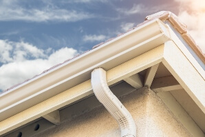 Gutter installation in Greenwood